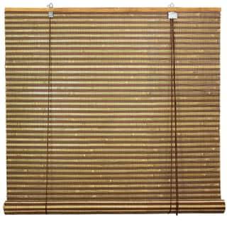 Burnt Bamboo 48-inch Roll-up Window Shade (China)