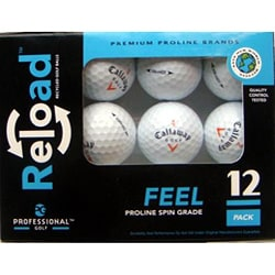 Callaway Hex Mix Models Recycled Golf Balls (Case of 36)