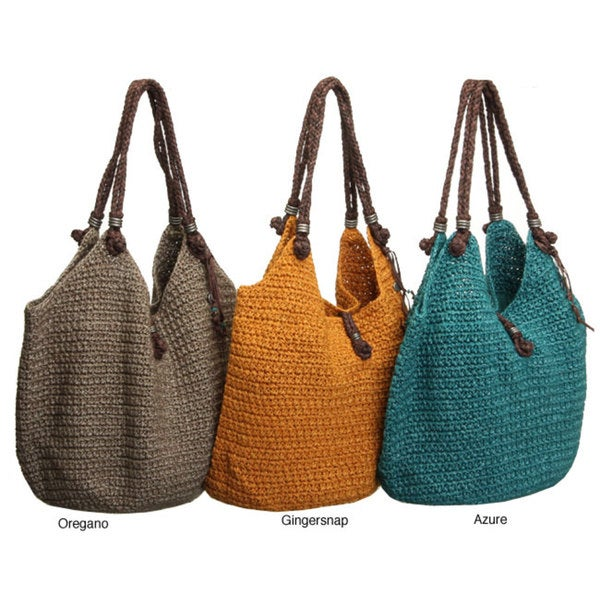 Shop The Sak Indio Crochet Tote Free Shipping Today Overstock