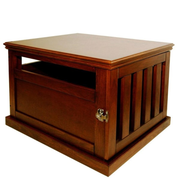 Furniture Style Dog Crates To Furniturestyle Wood Finish Dog Crate Shop Free Shipping Today