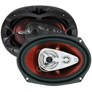 "BOSS AUDIO CH6940 Chaos Exxtreme 6"" x 9"" 4-way 500-watt Full Range Sp"