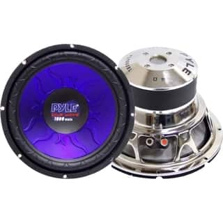 Pyle PL-1090BL Woofer - 1000 W PMPO - 1 Pack|https://ak1.ostkcdn.com/images/products/3946107/P11983061.jpg?impolicy=medium