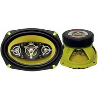 Pyle Gear X PLG69.8 Speaker - 250 W RMS - 500 W PMPO - 8-way - 2 Pack