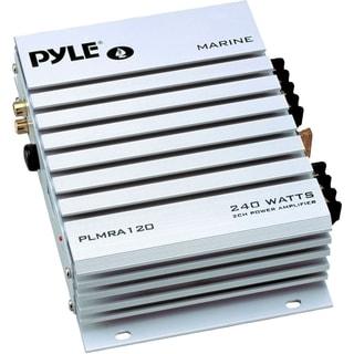Pyle Hydra PLMRA120 Marine Amplifier - 140 W RMS - 240 W PMPO - 2 Cha