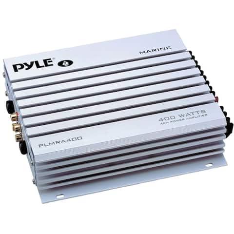 Pyle Hydra PLMRA400 Marine Amplifier - 400 W PMPO - 4 Channel