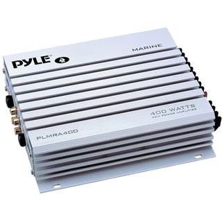 Pyle Hydra PLMRA400 Marine Amplifier - 400 W PMPO - 4 Channel|https://ak1.ostkcdn.com/images/products/3946152/Pyle-Hydra-PLMRA400-Marine-Amplifier-400-W-PMPO-4-Channel-P11983102.jpg?impolicy=medium