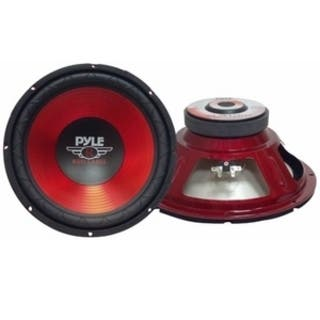 Pyle PLW10RD Woofer - 600 W PMPO - 1 Pack|https://ak1.ostkcdn.com/images/products/3946183/Pyle-PLW10RD-Woofer-1-Pack-P11983130.jpg?impolicy=medium