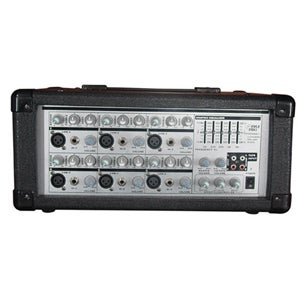 PylePro PMX601 6xChannel Powered PA Mixer