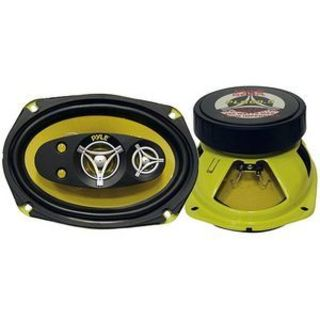 Pyle Gear X PLG69.5 Speaker - 225 W RMS - 450 W PMPO - 5-way - 2 Pack