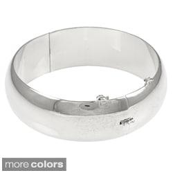 Sterling Essentials Silver 7-inch High Polish Bangle Bracelet (20 mm)