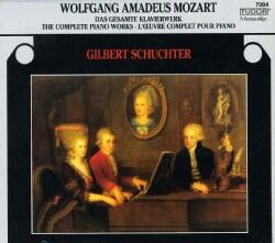 Gilbert Schuchter - Mozart: Complete Piano Works