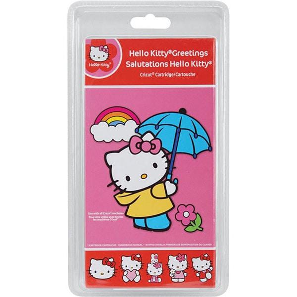 Cricut Salutations Hello Kitty Cartridge Kit