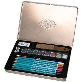 Royal Brush Watercolor Pencil Art 19-piece Set