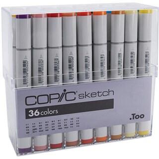 Copic Sketch 36 Basic Colors Marker Set