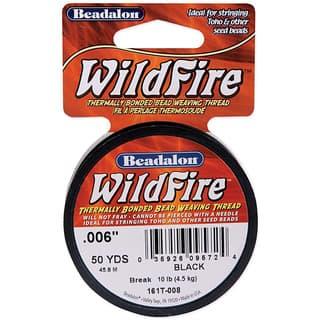 Wildfire Black Bead Weaving Thread|https://ak1.ostkcdn.com/images/products/3952671/P11988506.jpg?impolicy=medium