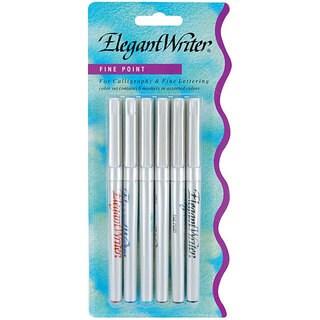 Speedball Elegant Writer Fine Point Pens (Pack of 6)
