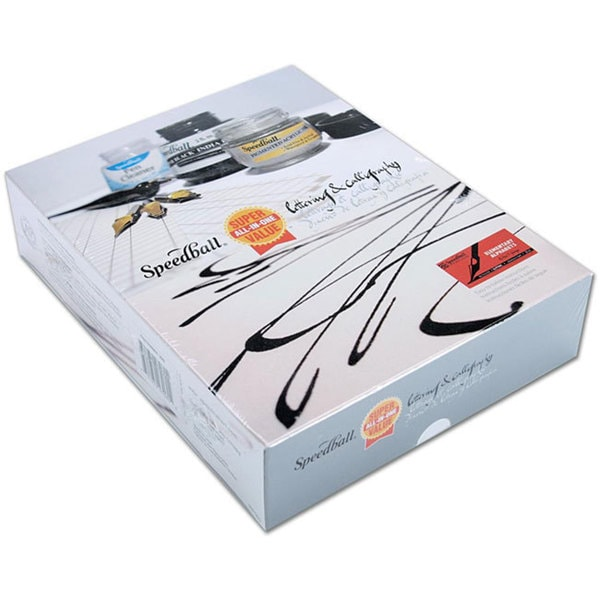 Speedball Super All-in-one Lettering and Calligraphy Set