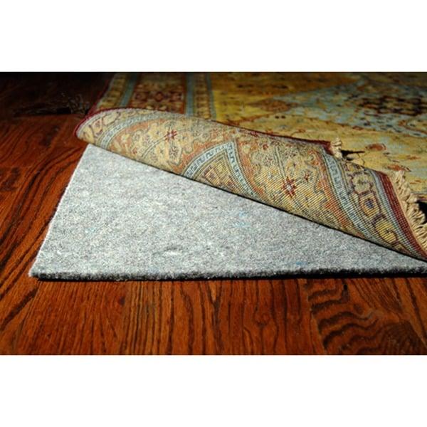 Safavieh Durable Hard Surface and Carpet Rug Pad (8' x 10') - Grey - 8' x 10'