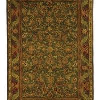 Safavieh Handmade Antiquities Kerman Charcoal Grey Wool Rug - 6' x 9'