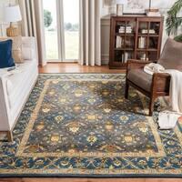Safavieh Handmade Tabriz Olive Wool Runner Rug - 2'3 x 8'