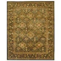 "Safavieh Handmade Antiquity Transitional Olive Wool Rug - 8'3"" x 11'"