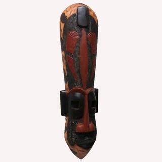 Handmade Tall Wooden Congo Mask (Ghana)