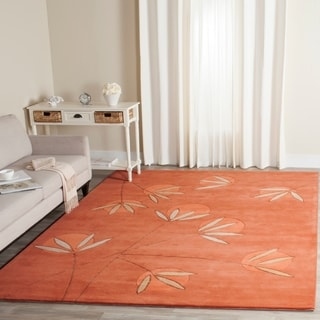 Safavieh Handmade Soho Summer Rust New Zealand Wool Rug (5' x 8')
