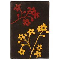 Safavieh Handmade Soho Autumn Brown New Zealand Wool Rug - 2' X 3'