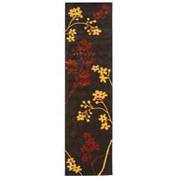 Safavieh Handmade Soho Autumn Brown New Zealand Wool Runner (2'6 x 10')
