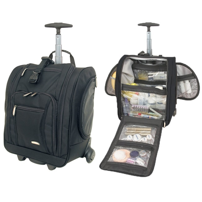 Travelon  Ballistic Nylon 14-inch Wheeled Carry-on Bag