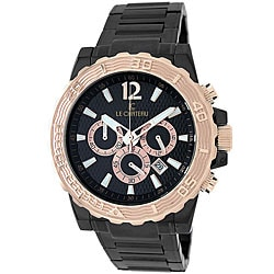 Le Chateau Men's Sports Dinamica Gunmetal Watch