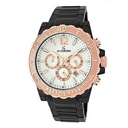 Le Chateau Men's Sports Dinamica Gunmetal Water-resistant Watch