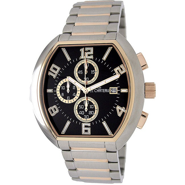 Le Chateau Men's Two-tone Watch