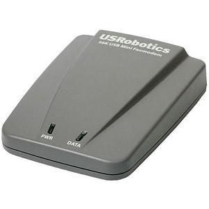 Shop U S Robotics 56k Usb Mini Fax Modem Free Shipping Today