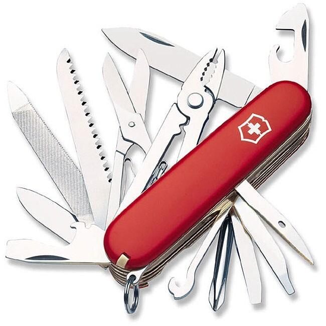 Victorinox Swiss Army Red Craftsman 21-tool Pocket Knife