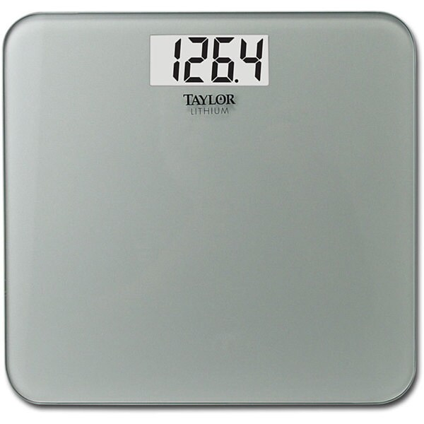 Taylor 7532 Ultra-thin Digital Lithium 400 lb Capacity Scale