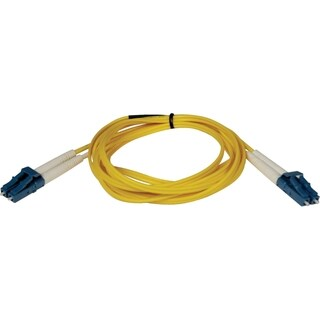Tripp Lite 1M Duplex Singlemode 8.3/125 Fiber Optic Patch Cable LC/LC