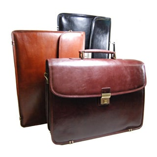 Torino Flap-over Triple-gusset Briefcase