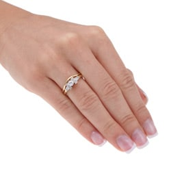 14k Yellow Gold 1/2ct TDW Diamond Bridal Ring Set (G-H-I, I1-I2)