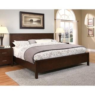 Abbyson Hamptons King-size Platform Bed