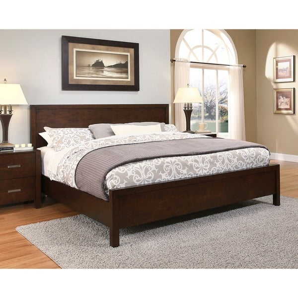 abbyson hamptons kingsize platform bed