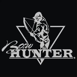 Upstream Images Bow Hunter Silver Window Decal - Thumbnail 1