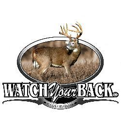 Upstream Images 'Watch Your Back' Color Window Decal - Thumbnail 1