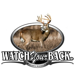 Upstream Images 'Watch Your Back' Color Window Decal