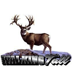 Upstream Images 'Walking Tall' Color Window Decal - Thumbnail 1