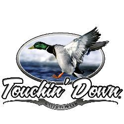 Upstream Images 'Touchin Down' Color Window Decal