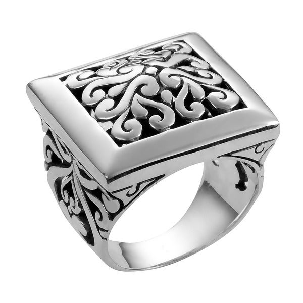 Handmade Sterling Silver 'Cawi' Ring (Indonesia)