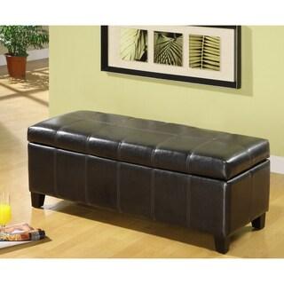 Furniture of America Corsica Lovey Vanity Storage Bench
