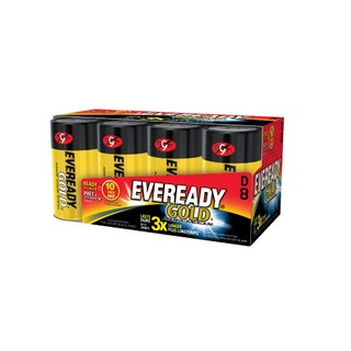 Energizer Eveready D Size Alkaline General Purpose Battery (Pack of 8)