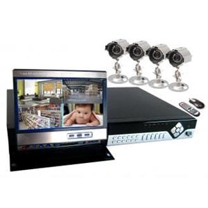 Q-see QSDF8204C4-320 4-Channel Video Surveillance System